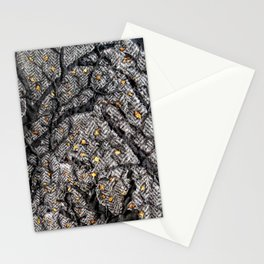 In the golden forest Stationery Cards