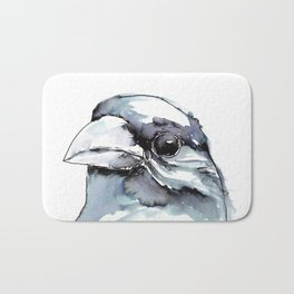 Crow Head Bath Mat