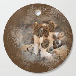 Mushroom Tile Cutting Board