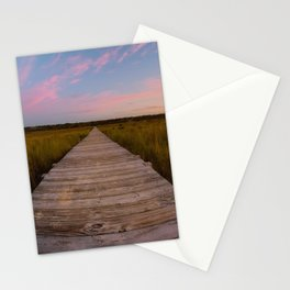 Sunrise Path Stationery Cards