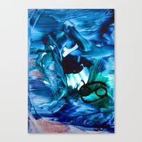 cancer Canvas Prints featuring Cancer by ART de Luna