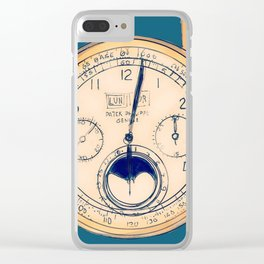 Old Watch Clear iPhone Case