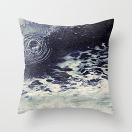 Ripples and Wave Throw Pillow