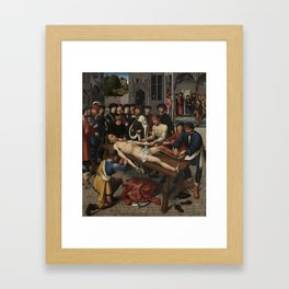The Judgment of Cambyses Framed Art Print