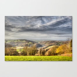 The Wye Valley Canvas Print