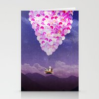 never stop exploring Stationery Cards featuring NEVER STOP EXPLORING IV by Monika Strigel