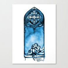Romeo and Juliet - William Shakespeare Illustration Canvas Print