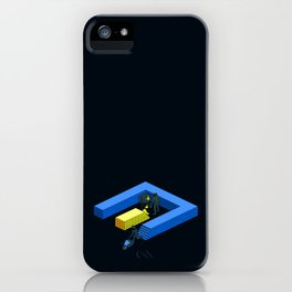 Tron Wall iPhone Case
