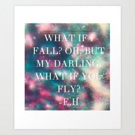 E.H QUOTE Art Print