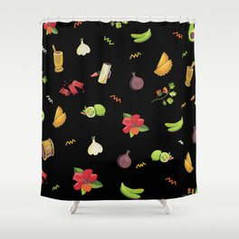DOMINICAN FLAVOR Shower Curtain