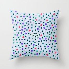 Dark Spots and Circles Throw Pillow