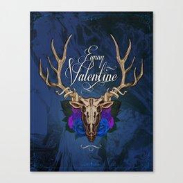 Funny Valentine Canvas Print