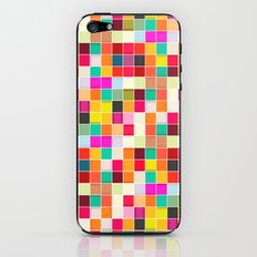 Colorful Rectangles iPhone & iPod Skin