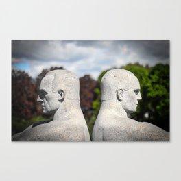 Vigeland Park Statue Canvas Print