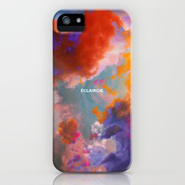 Eclaircie iPhone Case