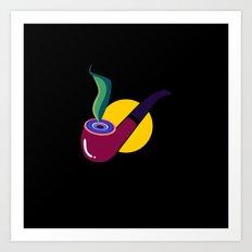 Pipe Art Print