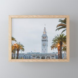 Port of San Francisco Framed Mini Art Print