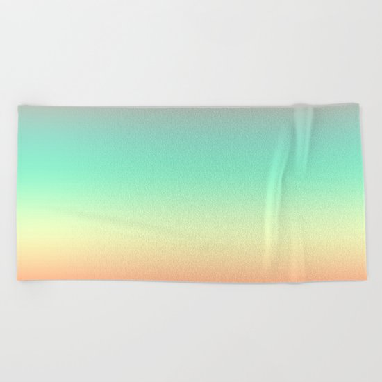 Summer Light Beach Towel