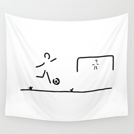 soccer player Wall Tapestry