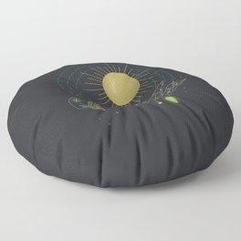 Fine Line - Illustration Floor Pillow