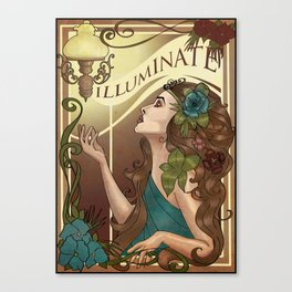 Iluminate Canvas Print