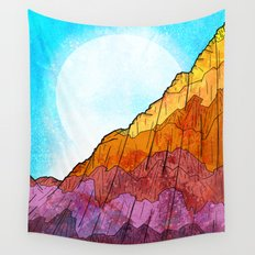 The Tall Cliff Wall Tapestry