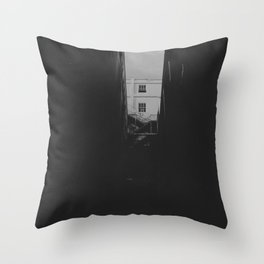 Sliver of Chinatown Throw Pillow