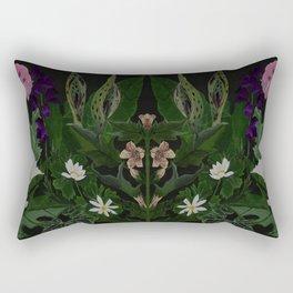 The Poison Garden - Datura Rectangular Pillow