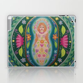 Spring Goddess Mandala Laptop & iPad Skin
