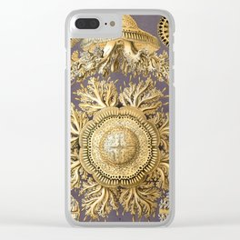 Ernst Haeckel - Art Forms in Nature: Discomedusa, 1904 Clear iPhone Case
