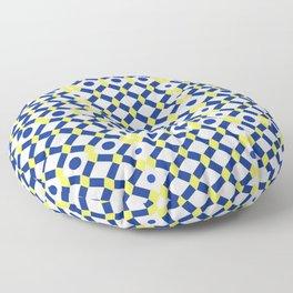 Moroccan Inspired Tile Pattern Floor Pillow