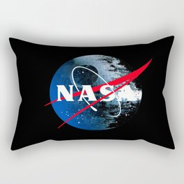 The Second NASA Death Star Rectangular Pillow