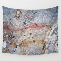 mineral Wall Tapestries featuring Mineral Vein by LilyMichael Photography