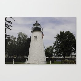 Concord Maryland Lighthouse Canvas Print