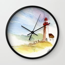 Lighthouse Impressions Wall Clock