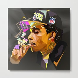 Hip-hop cubism Metal Print