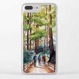 Muir Woods Clear iPhone Case