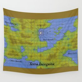 Terra Incognita Wall Tapestry
