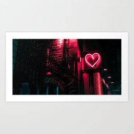 Lovers of Today Art Print