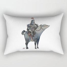 Numero 1 -Cosi che cavalcano Cose - Things that ride Things- Rectangular Pillow