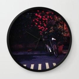 Lane in Taipei, Taiwan Wall Clock