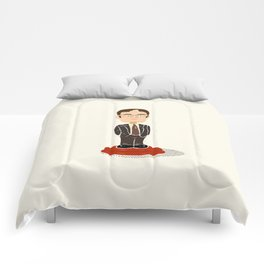 Dwight Bobble Head Comforters
