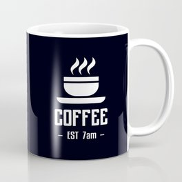 Morning Black Coffee Fix Coffee Mug