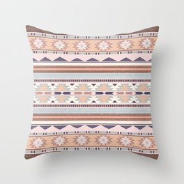 Blush South Western Pattern Throw Pillow
