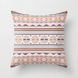 Blush South Western Pattern Throw Pillow