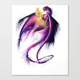 Nebula Dragon Canvas Print
