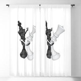 Chess dancers Blackout Curtain