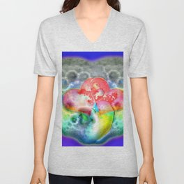 Bathing in love and soap ... Unisex V-Neck