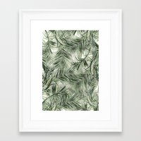 palms Framed Art Prints featuring palms by .eg.