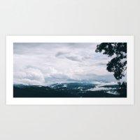 Mountain Wonder Art Print